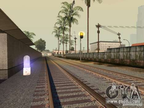 Railway traffic lights for GTA San Andreas
