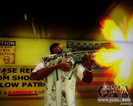 Tavor Tar-21 Digital for GTA San Andreas