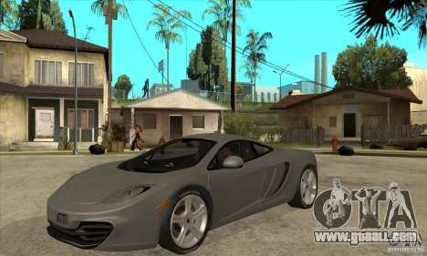 McLaren MP4-12c 2010 for GTA San Andreas