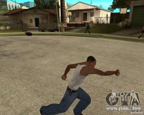 Wolverine mod v1 (Scooby-Doo) for GTA San Andreas sixth screenshot