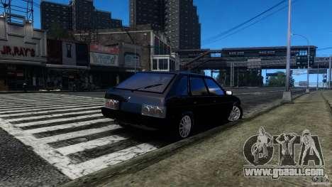 VAZ 2109 Drift Turbo for GTA 4 back left view