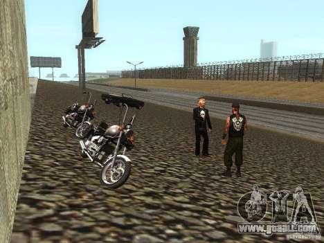 The realistic school bikers v1.0 for GTA San Andreas