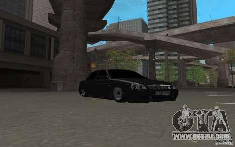 LADA priora light tuning v. 2 for GTA San Andreas left view