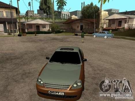LADA 2170 Pickup for GTA San Andreas back left view