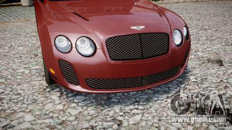 Bentley Continental SS v2.1 for GTA 4 side view