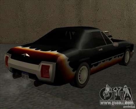 HD Diablo for GTA San Andreas left view