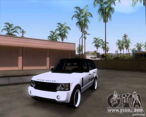 Range Rover Hamann Edition for GTA San Andreas right view