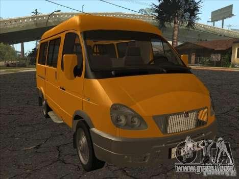 GAZ 22171 Sable for GTA San Andreas