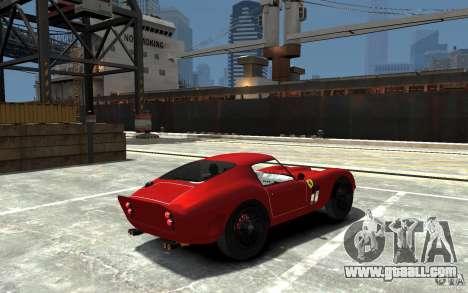 Ferrari 250 Le Mans for GTA 4 right view