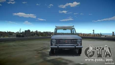 VAZ 2101 Stock for GTA 4 inner view
