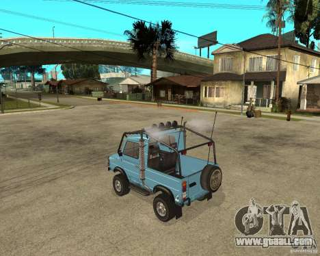 Luaz 969 m away-Tuning for GTA San Andreas left view