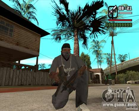 Pak weapons of Fallout New Vegas for GTA San Andreas forth screenshot
