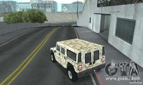 Hummer H1 for GTA San Andreas upper view
