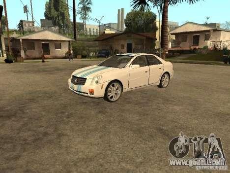 Cadillac CTS for GTA San Andreas upper view