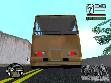 IKARUS 260.37 for GTA San Andreas upper view