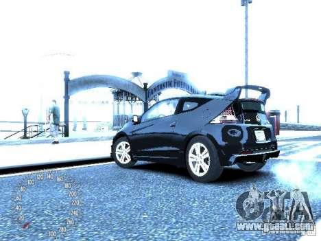 Honda Mugen CR-Z for GTA 4 back left view