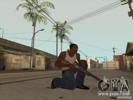 New Domestic Weapons Pack for GTA San Andreas third screenshot