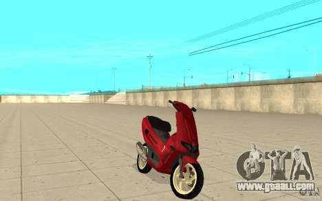 Gilera Runner 50SP Skin 5 for GTA San Andreas