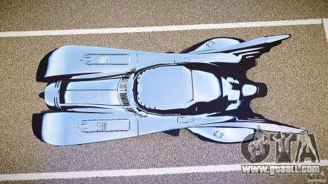 Batmobile v1.0 for GTA 4 back view