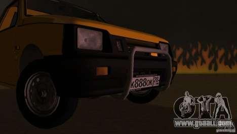Seaz Pickup for GTA Vice City inner view