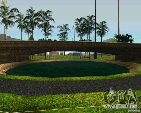 The new Park in Los Santos for GTA San Andreas forth screenshot