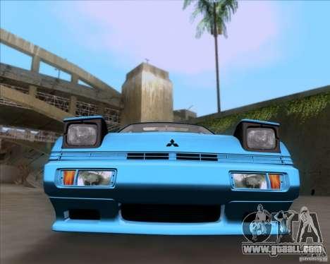 Mitsubishi Starion for GTA San Andreas back view