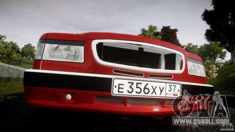 Gaz-3110 Turbo WRX STI v1.0 for GTA 4 interior
