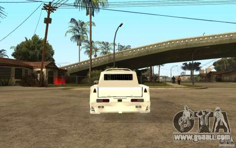 IZH 27151 for GTA San Andreas back left view