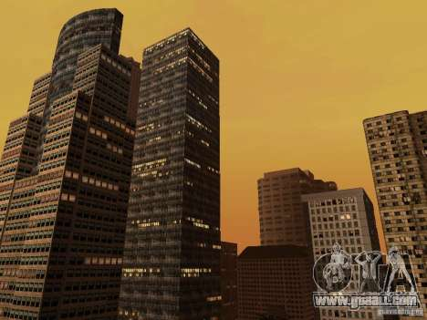 New Downtown skyscrapers texture for GTA San Andreas second screenshot