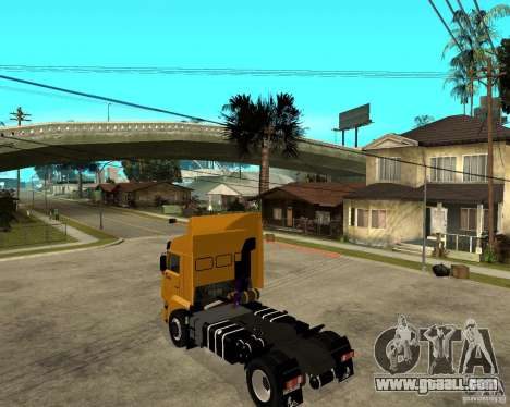 KAMAZ 5460M TAI version 1.5 for GTA San Andreas left view