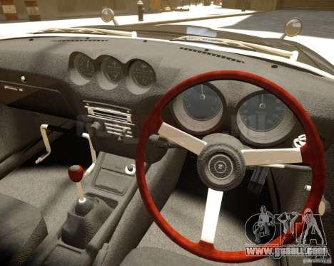 Nissan Fairlady Z HS30-240Z for GTA 4 back view