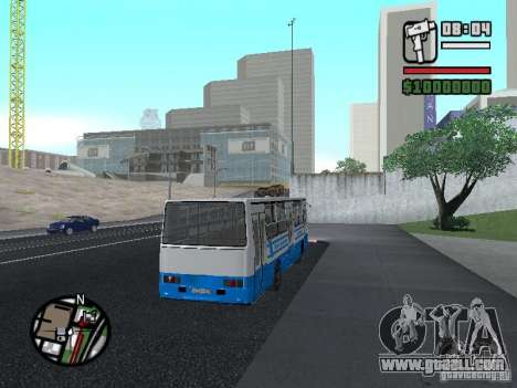 Ikarus 260 safety for GTA San Andreas back view