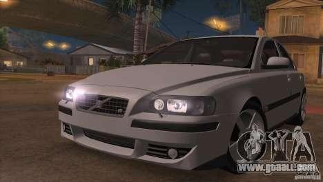Volvo S60R for GTA San Andreas interior