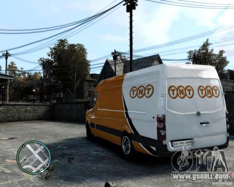 Volkswagen Crafter TNT for GTA 4 right view