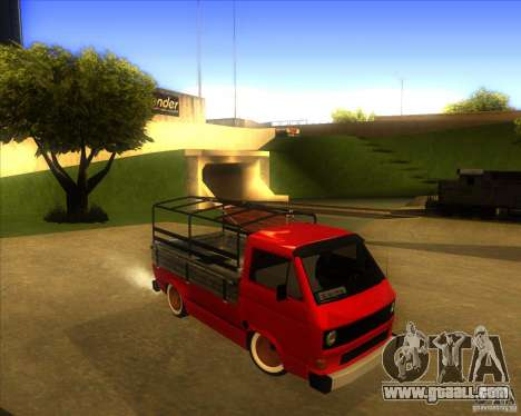 Volkswagen Transporter T3 pickup for GTA San Andreas