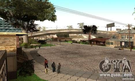 Grove Street 2012 V1.0 for GTA San Andreas