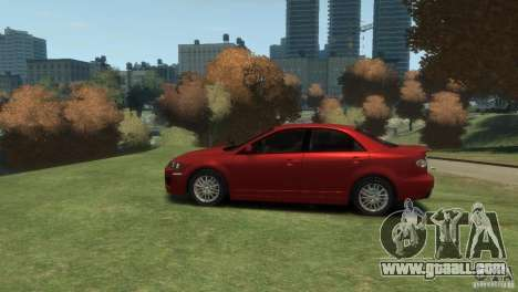 Mazda 6 MPS for GTA 4 back left view