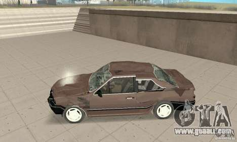 Volkswagen Santana GLS 1989 for GTA San Andreas bottom view