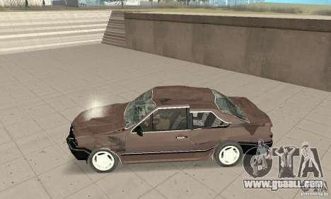 Volkswagen Santana GLS 1989 for GTA San Andreas bottom view
