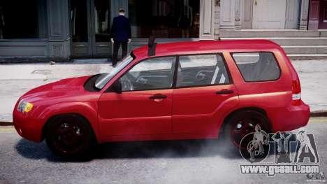 Subaru Forester v2.0 for GTA 4 back left view