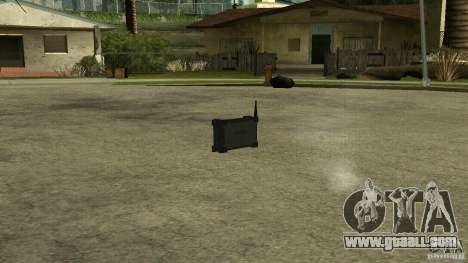 Flash of the CoD MW2 for GTA San Andreas