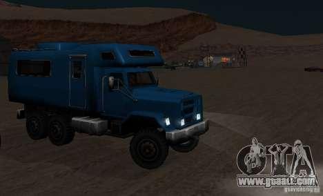 Journey 6x6 Enterable V1 for GTA San Andreas