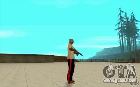 Pants adidas for GTA San Andreas fifth screenshot