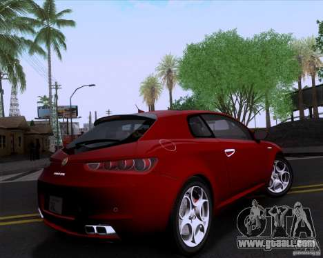 Alfa Romeo Brera for GTA San Andreas left view