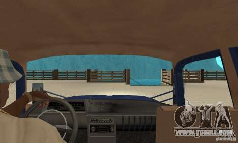 Moskvich 412 with tuning for GTA San Andreas right view