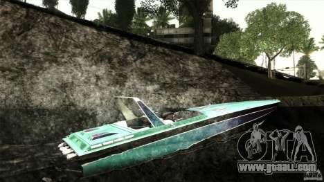 Wellcraft 38 Scarab KV for GTA San Andreas