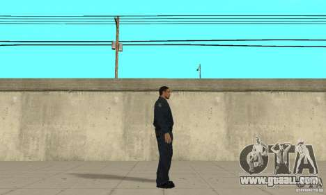 A police officer from GTA 4 for GTA San Andreas second screenshot