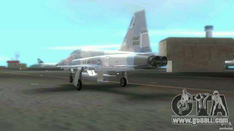 US Air Force for GTA Vice City back view