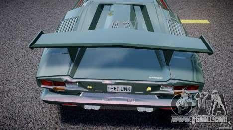 Lamborghini Countach v1.1 for GTA 4 side view
