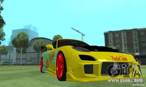 Mazda Rx7 for GTA San Andreas right view